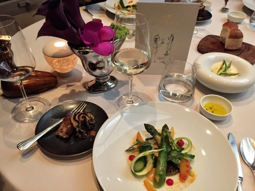Incredible meal at the two Michelin star restaurant at Chevre D'Or.. a must no matter where in the area you are staying!