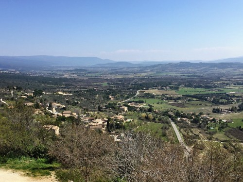 Sweeping views from Gordes