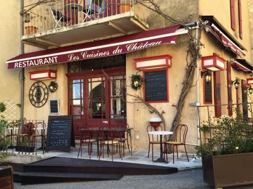 Lovely lunch spot in Gordes