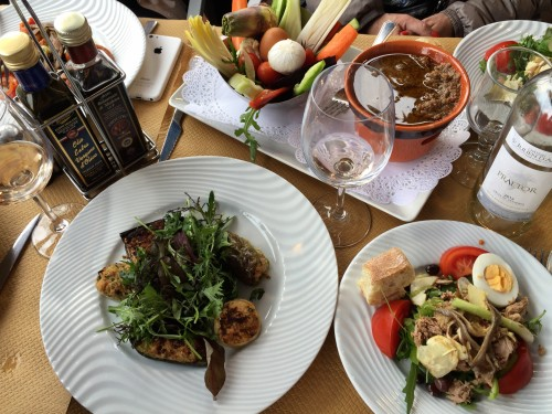 A delicious lunch at Le Safari in Vieux Nice