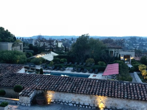 View from my room over Le Mas de Pierre