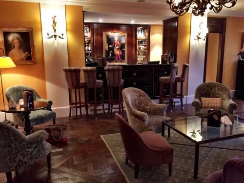 Lounge at Les Mas de Pierre