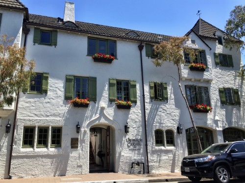 L'Auberge Carmel- so charming!
