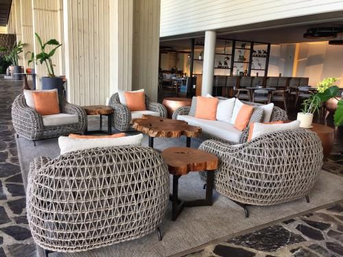 Mauna Kea Beach Hotel- newly redesigned Copper Bar