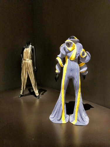 A small glimpse into the fashion exhibition at the MoMA.