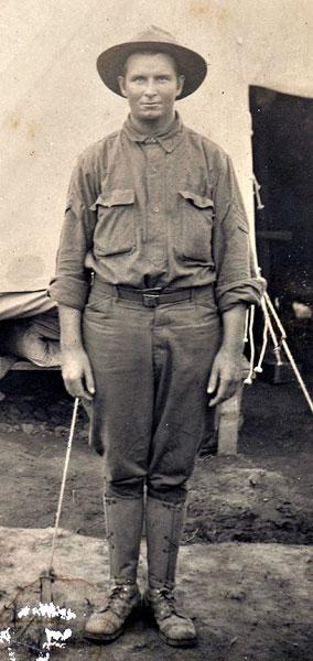 Soldat Daniel D. Vann