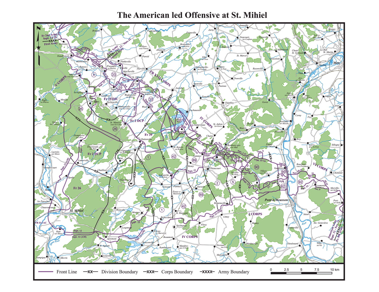 The American led Offensive at St. Mihiel