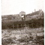 Croix Rouge Farm - 1918 - With 168th Graves in Foreground