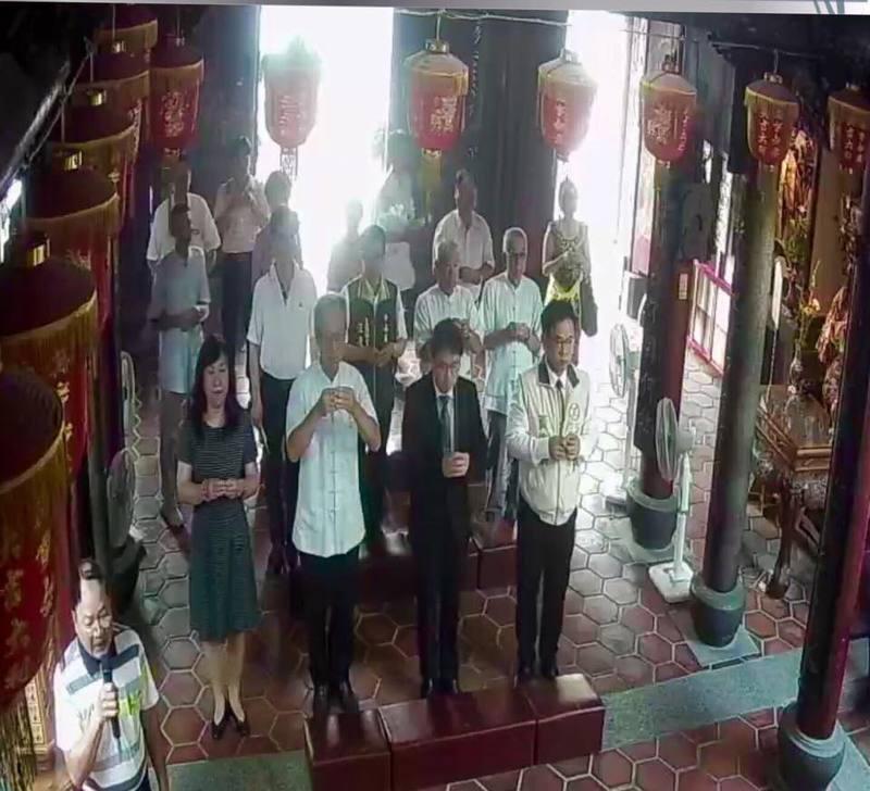 李孟諺市長蒞臨臺灣府城隍廟參拜