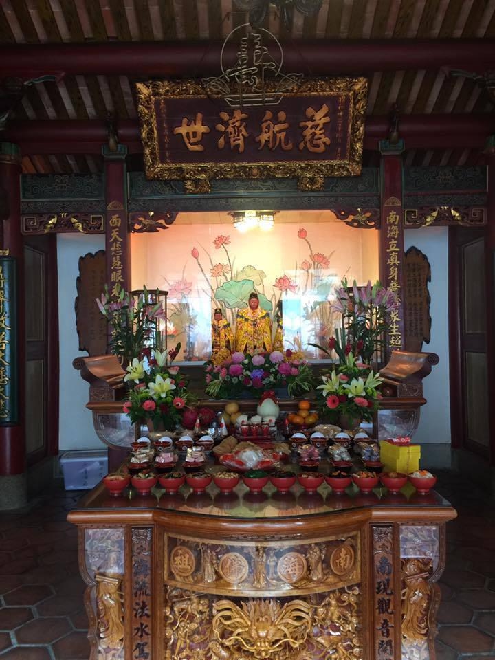 臺灣府城隍廟禮斗儀式