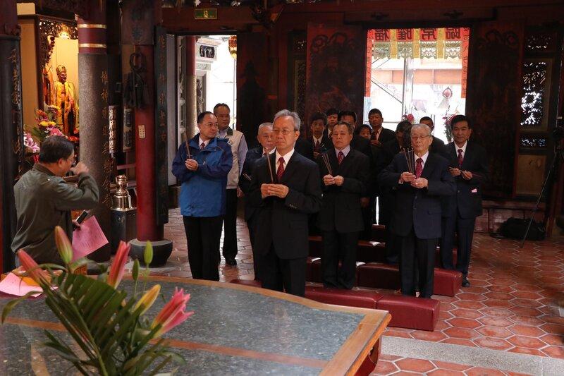 管理委員會宣誓就職典禮-臺灣府城隍廟