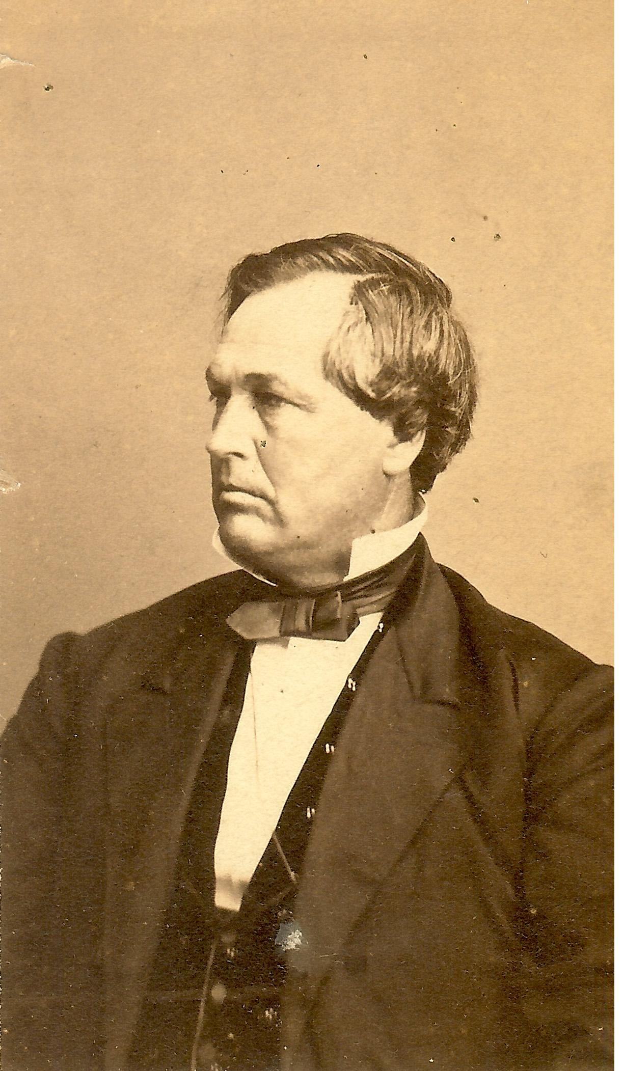 portrait General James W. Denver at Clinton County History Center