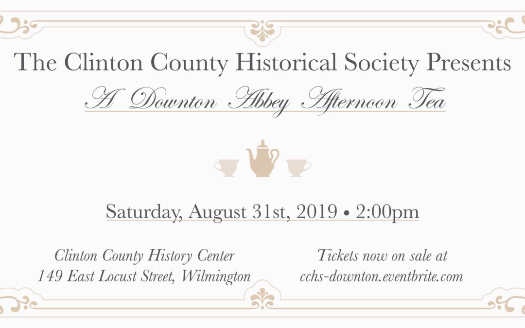 Downton Abbey Tea Party Fundraiser