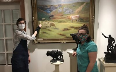 Lending an Expert Hand to Help Preserve Our History: ICA Art Conservator
