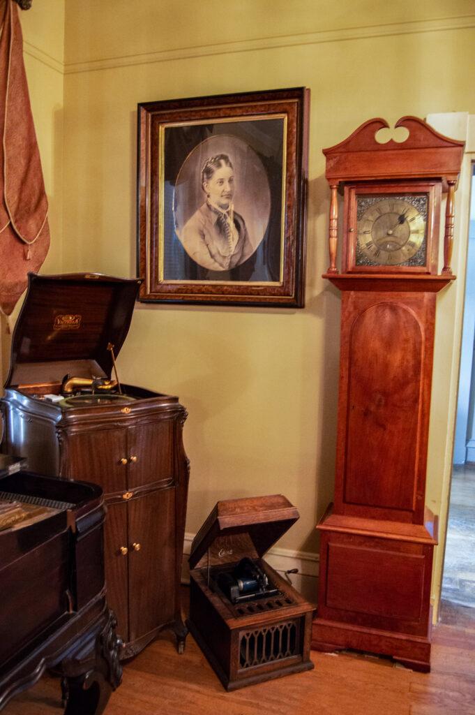 Clinton County History Center museum interior