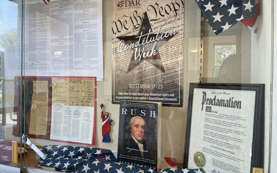 Daughters of the American Revolution: Constitution Week