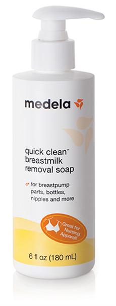 What's in my diaper bag: Review of Medela Breastmilk Removal Soap