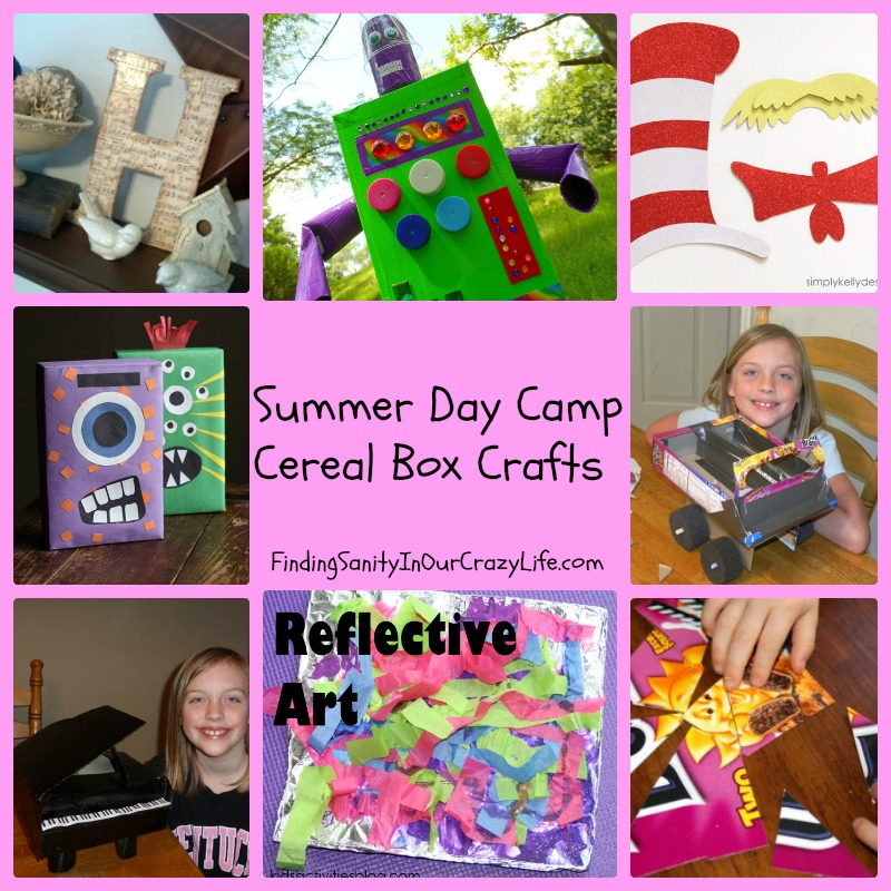 Summer Day Camp: Cereal Box Crafts