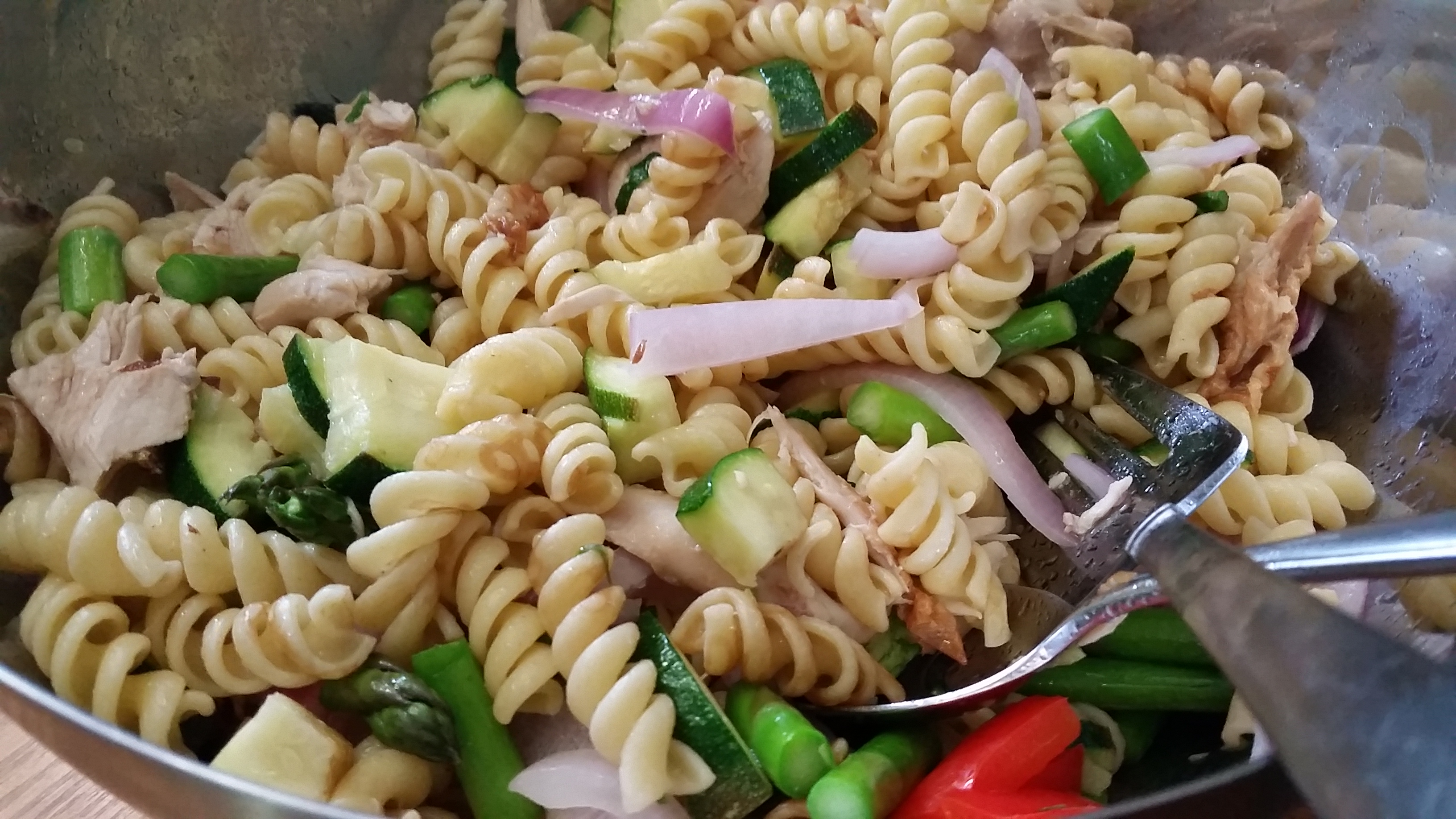 Recipe: Noodles and Veggies with Chicken