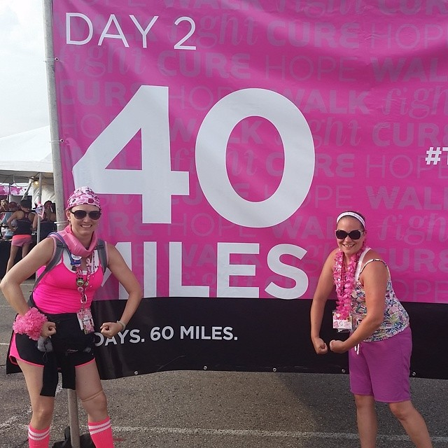 40 miles done!
