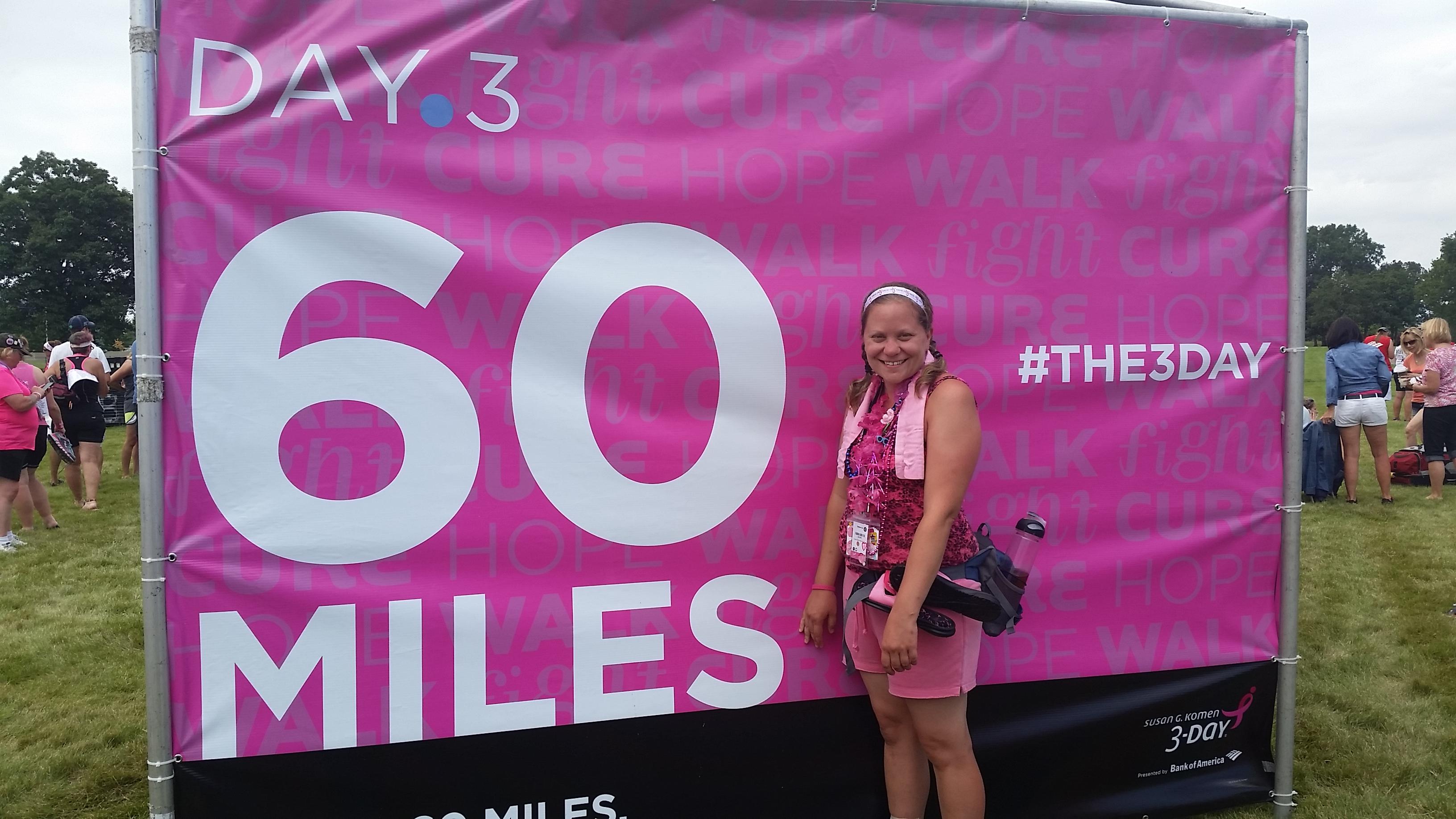 Susan G. Komen 60 Miles – Day 3