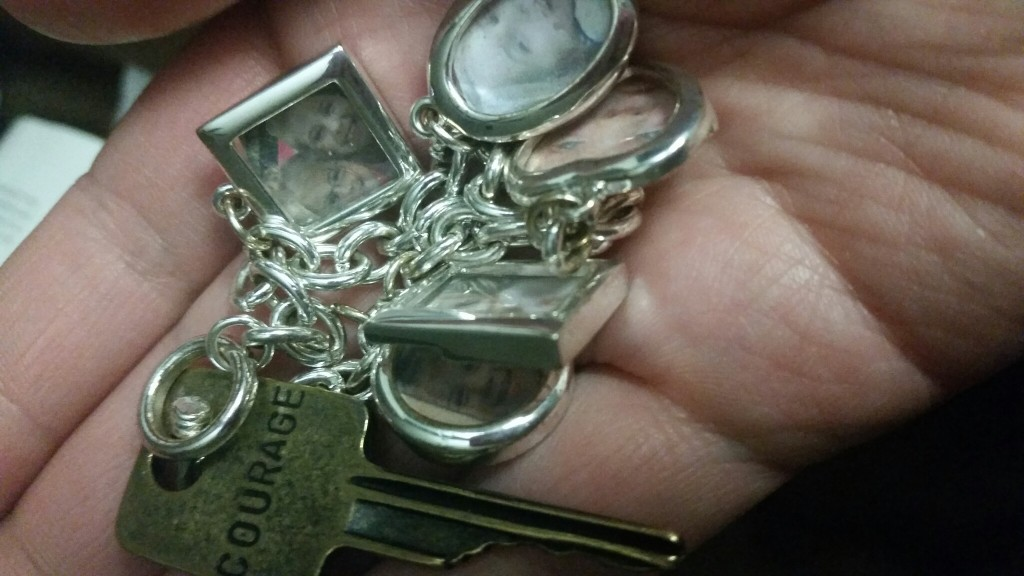 Courage keys were handed out to all MOPS/MOMSnext members. I recently gave away my MOPS courage key.