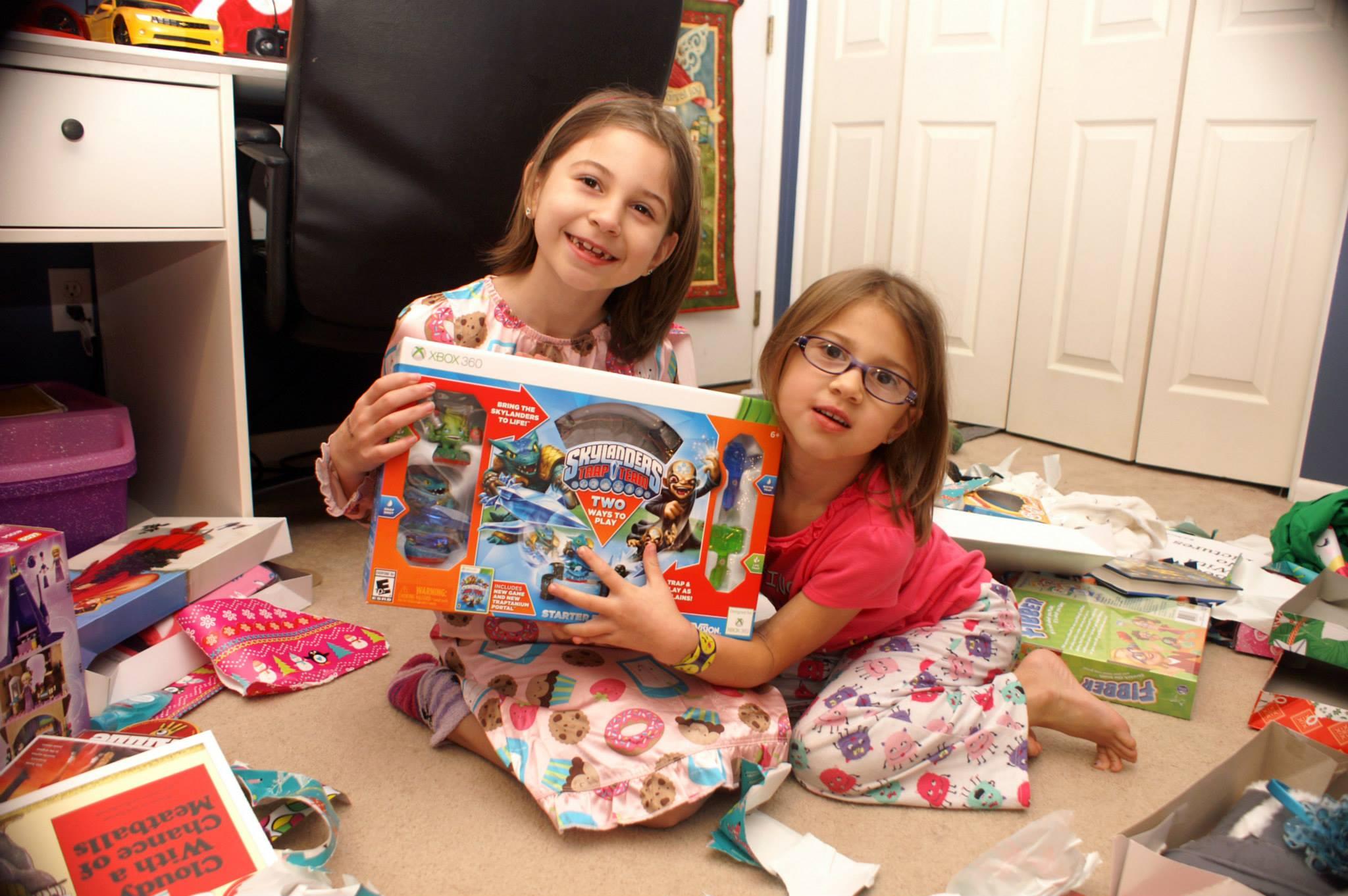 Avoid Christmas present clutter