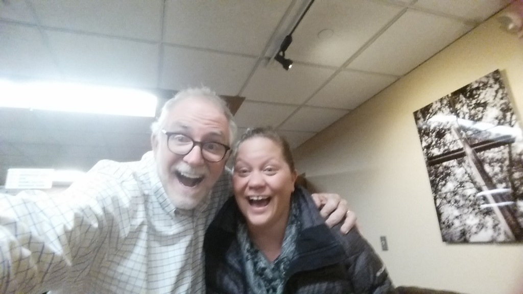 I took a selfie with Bob Goff after he spoke at a local church recently. I first saw him at MOMCon 2015.