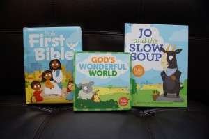 The Frolic books from Sparkhouse illustrate some of life's troubles and give parents resources for having conversations with their kids.