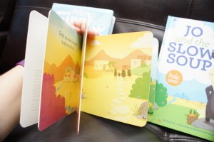 The Sparkhouse Frolic books are colorful, bold, durable and a great tool for strengthening the faith of a child.