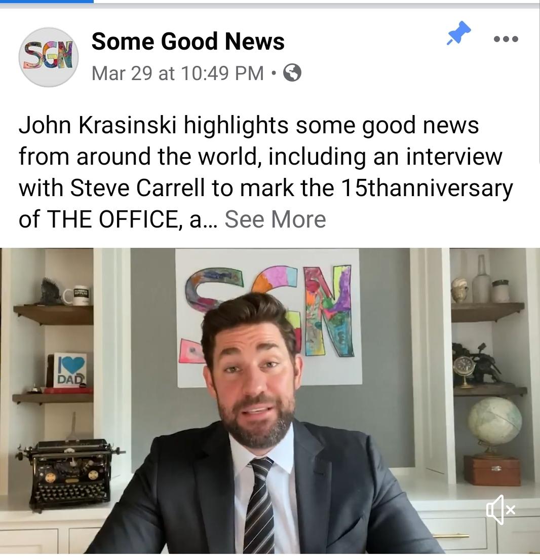 Spread some good news