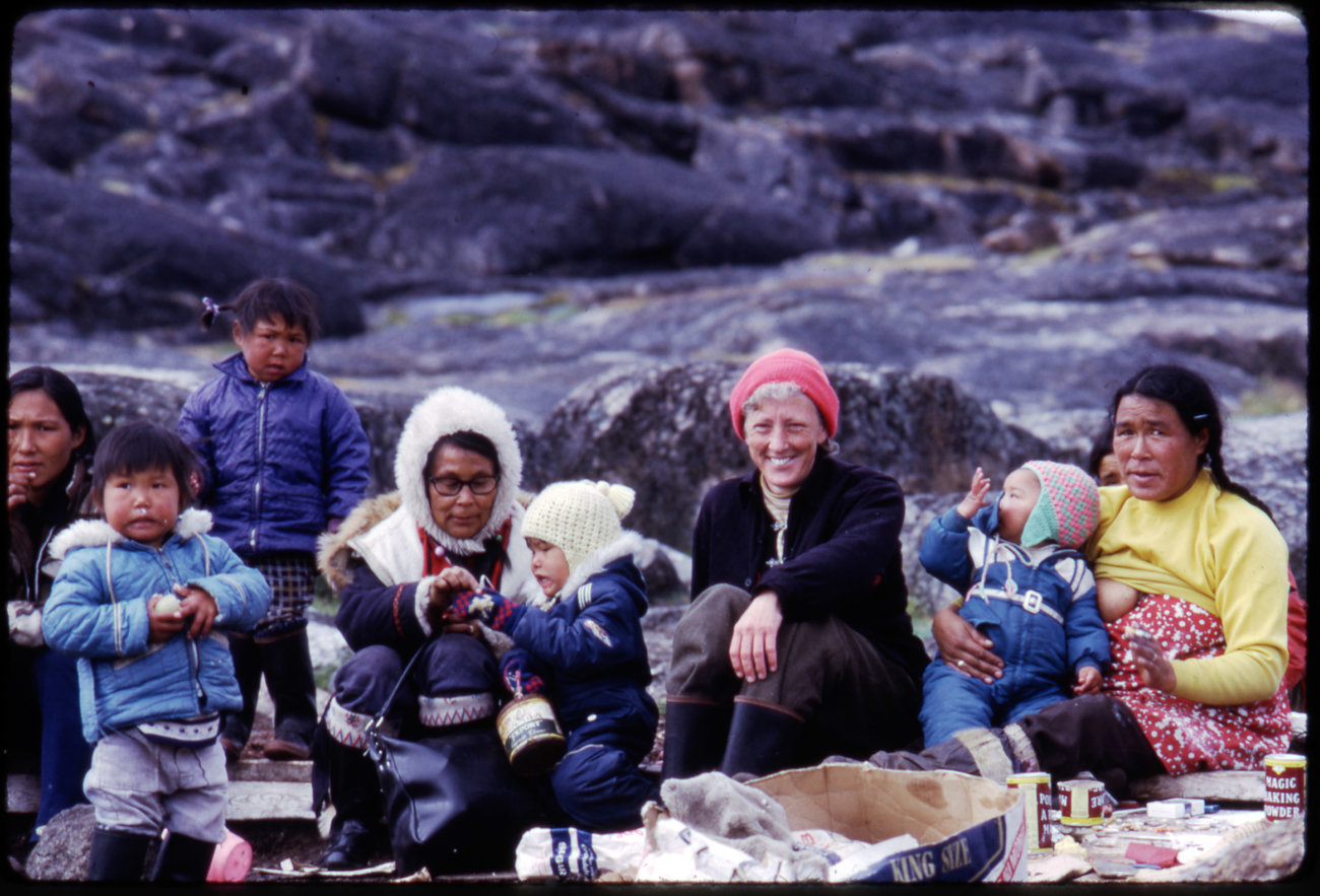 Group of Inuit people