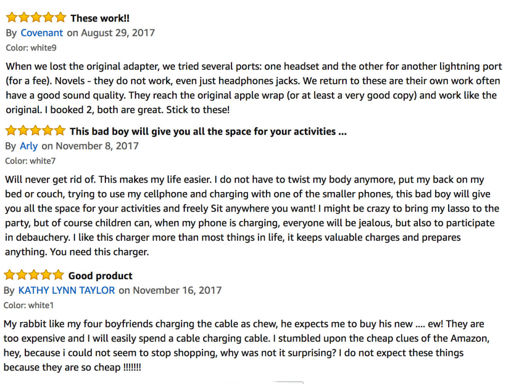 Amazon's Review System