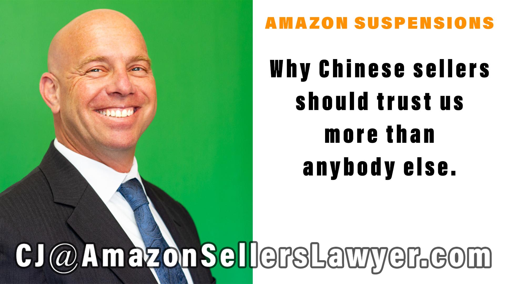 Chinese sellers trust Rosenbaum Famularo