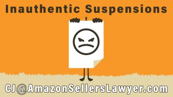 Used Sold as New & Inauthentic Suspensions