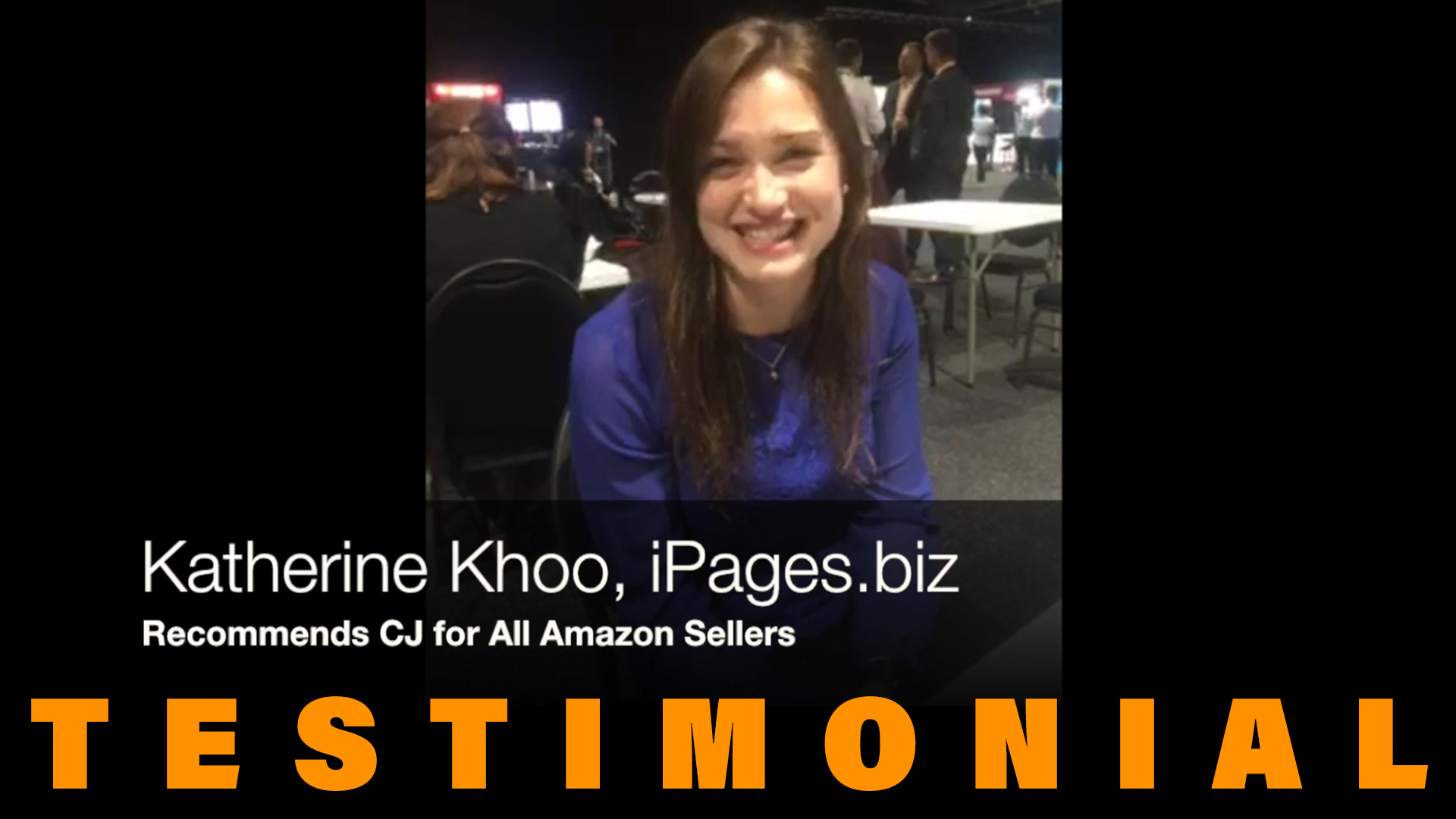 testimonial of AMZ Vendor Katherine Khoo (iPages.biz) recommends CJ for all Amazon sellers