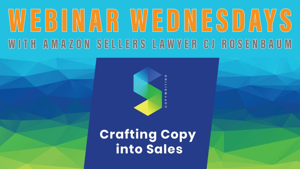 Webinar with Sacha Gorelik - crafting copy into sales
