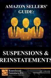 Book - Amazon Sellers Guide to Suspensions & Reinstatements