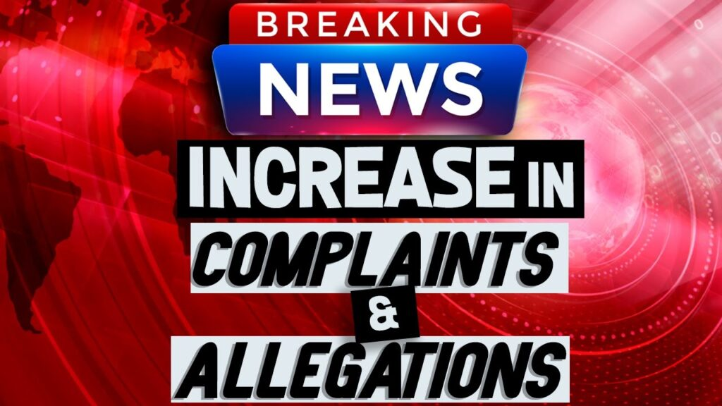 Dramatic Increase in the Number of Complaints & Allegations on Amazon