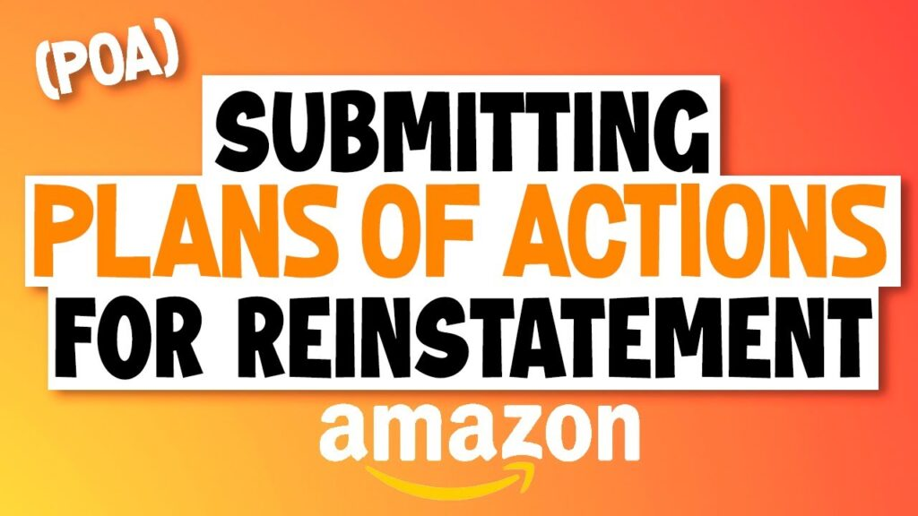 What to Show in a Plan of Action for Reinstatement after Generic Products are Suspended from Rights Owners Complaints