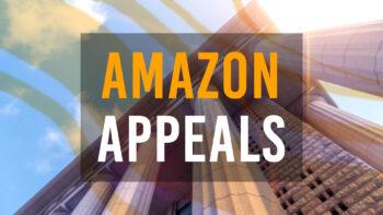 Amazon account suspension appeals