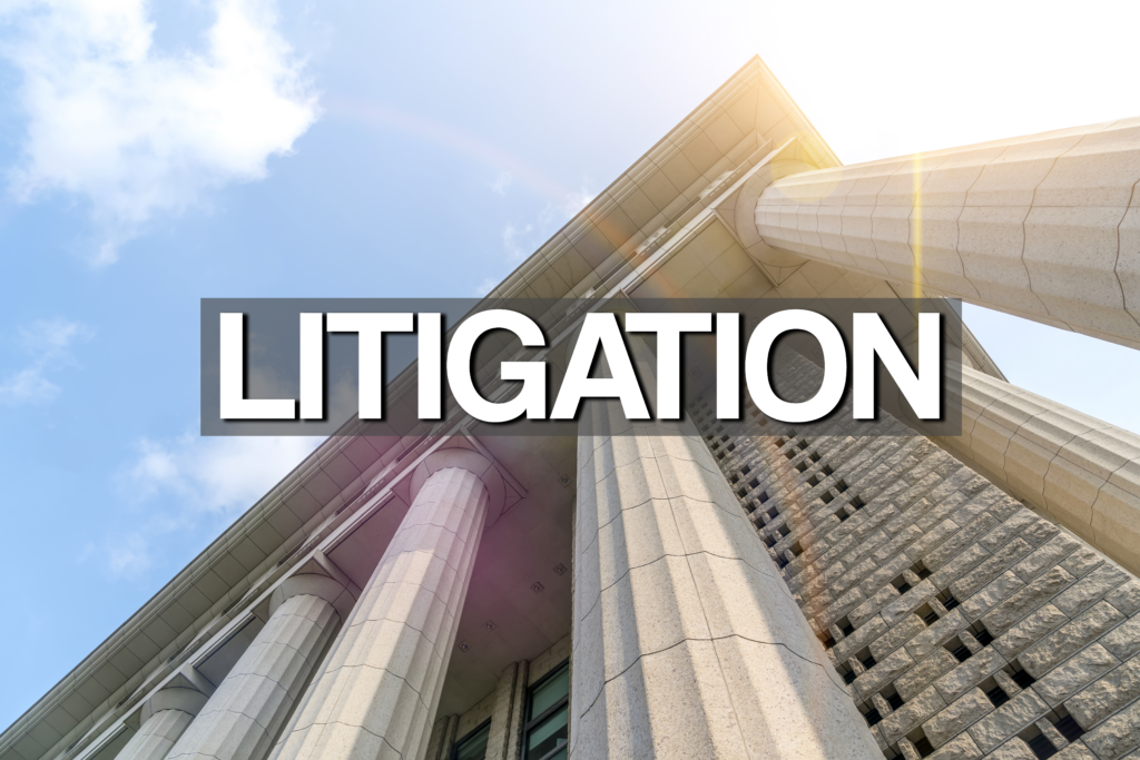 sellers who've been sued - temporary restraining orders in litigation