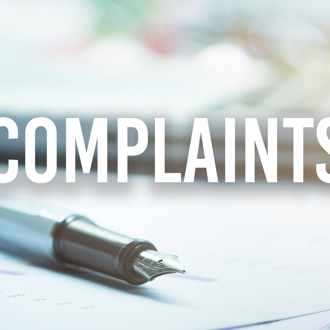 complaints on Amazon