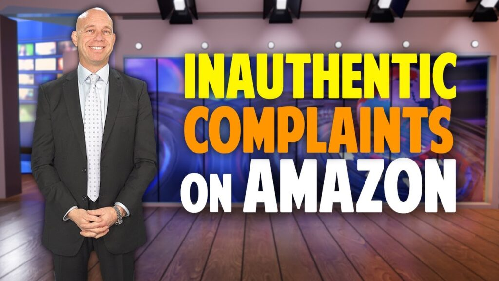 Paralegal Discussion What to do if you receive an INAUTHENTIC COMPLAINT on Amazon.com