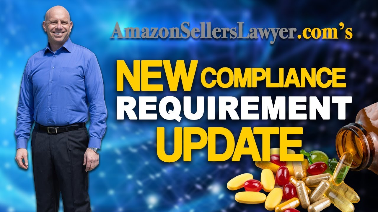 Amazon's Ridiculous supplement compliance requirements