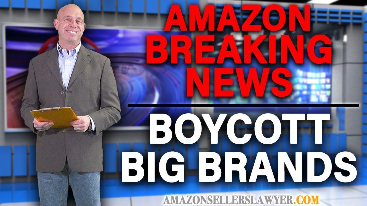 Boycotting BIG Brands on Amazon for Sending Sellers BASELESS Intellectual Property Complaints