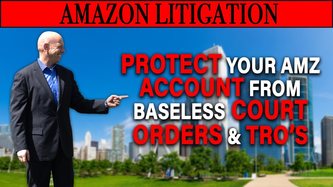 Brands Persuade Judges to Issue Temporary Restraining Orders resulting in Frozen Amazon Seller Accounts