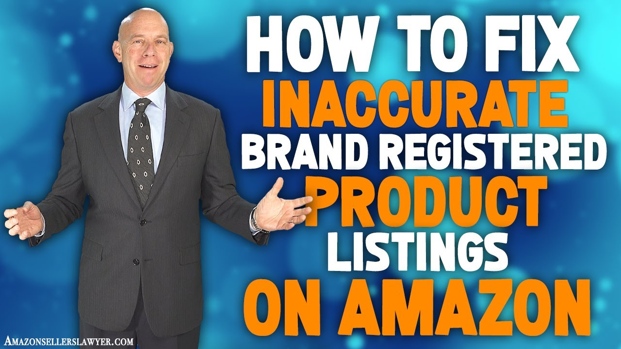 Creating Cases With Seller Support for Problematic Brand Registered Product Listings on Amazon