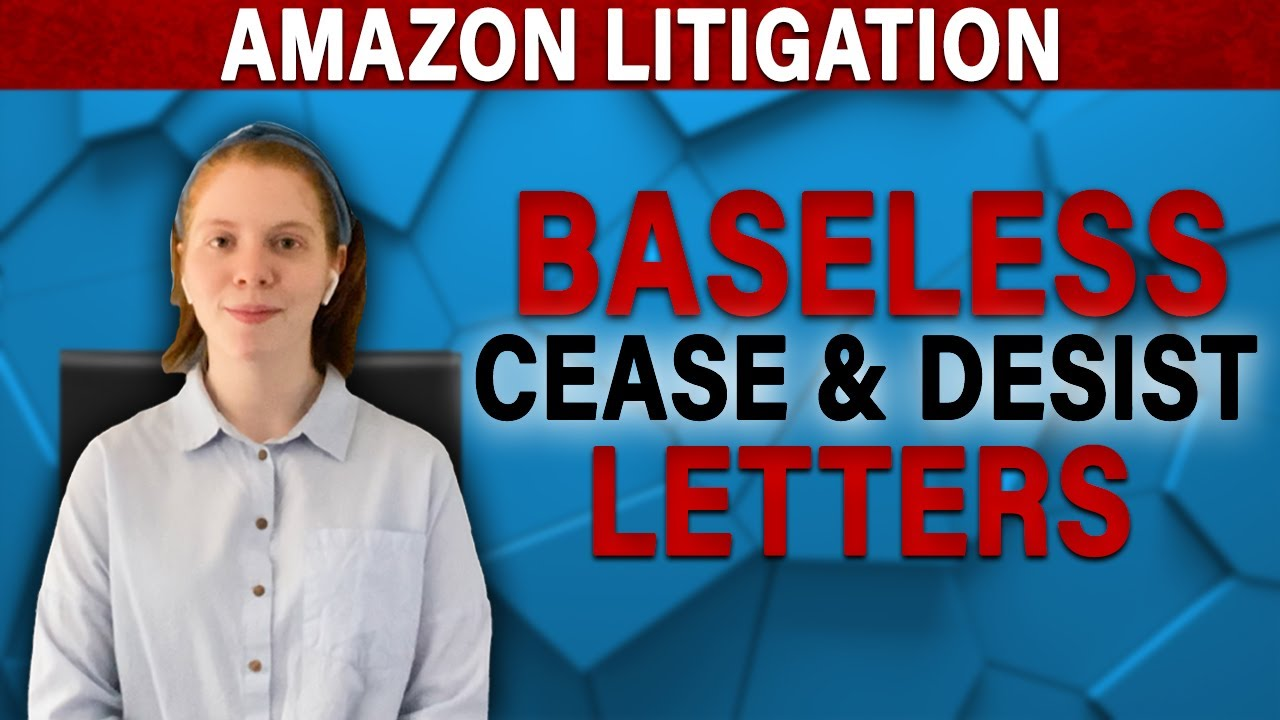 Know Your Rights When Brands Send Baseless Cease & Desist Letters for Products Sold on Amazon