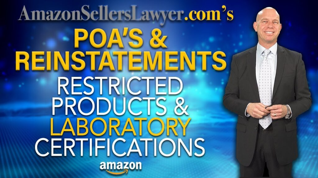 Amazon Sellers Suspended for Restricted Products Winning Reinstatements with Laboratory Certifications